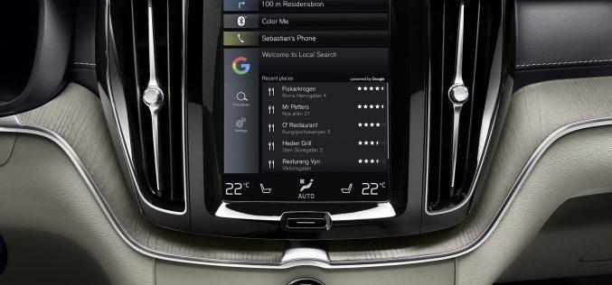 Volvo et Google dévoileront de nouvelles solutions multimédia embarquées