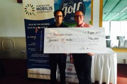 46 000 $ amassés lors du 31e Tournoi de golf de la Corporation Mobilis