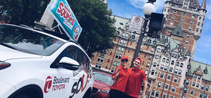 L'Escouade Monsieur Sourire de Boulevard Toyota est de retour