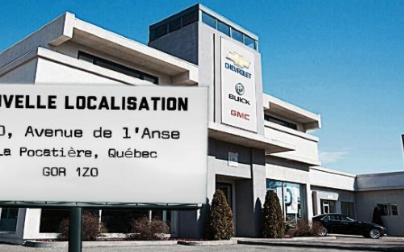 Thibault GM de La Pocatière déménage