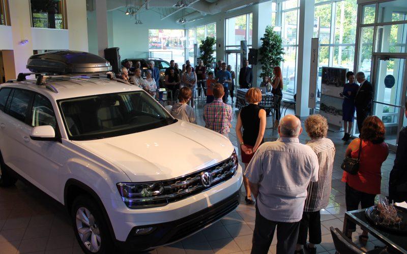 Dévoilement de l'Atlas chez Desjardins Volkswagen