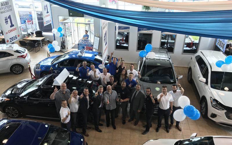 ALBI Hyundai = championne des ventes Hyundai !