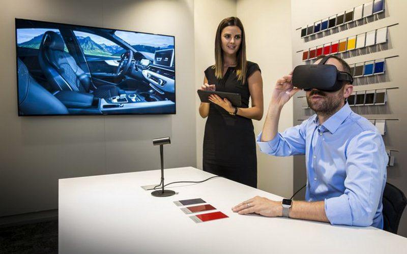L'expérience virtuelle d'achat débute chez Audi