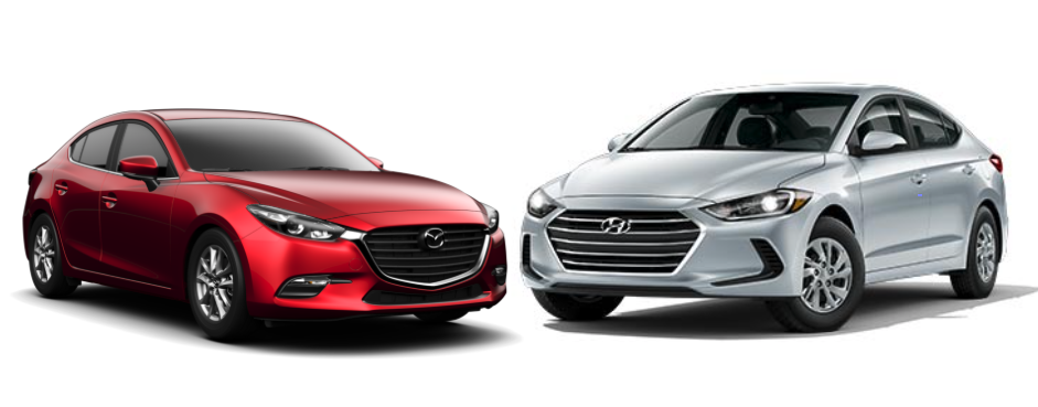 Mazda 3 VS Hyundai Elantra
