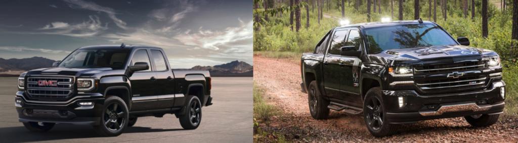 Chevrolet Silverado VS GMC Sierra 2017