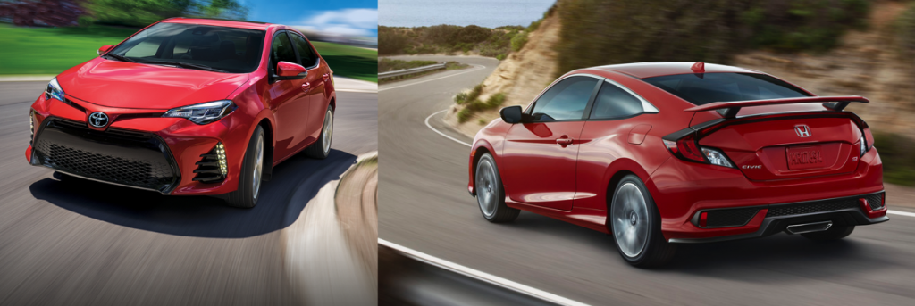 Toyota Corolla VS Honda Civic 2017