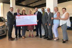 Brossard Hyundai et Banque Scotia:  Tricotés serrés