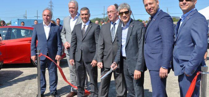 Siège social et nouvelle concession Spinelli à Lachine