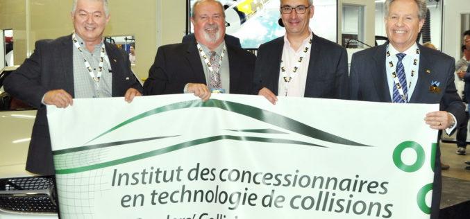 Ouverture de l'Institut des concessionnaires en technologie de collisions chez LAR