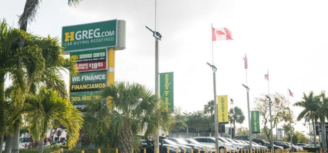 HGreg.com: 2e plus importante bannière de concessions d'automobiles d'occasion en Floride