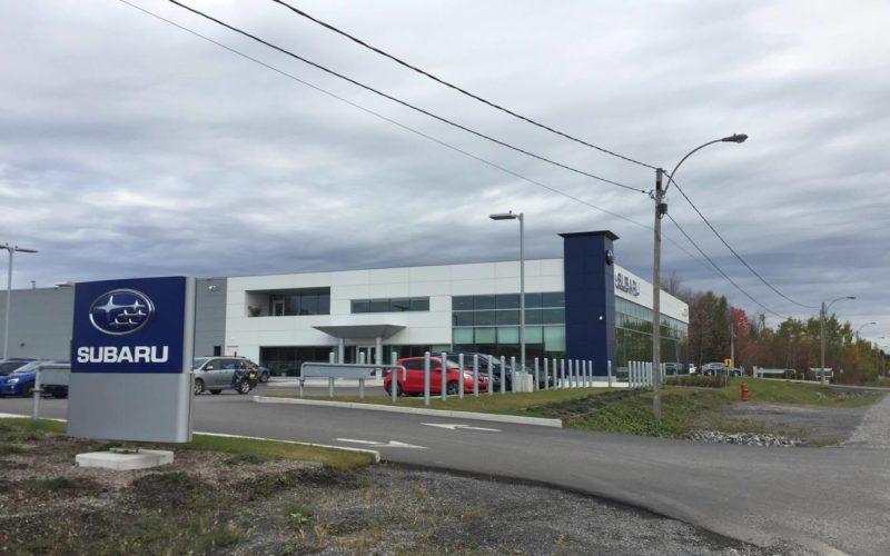 Option Subaru, «la plus belle concession Subaru au Canada»