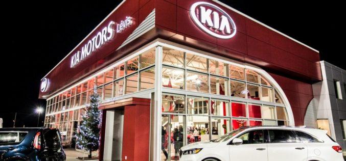 Kia Lévis inaugure ses nouveaux locaux
