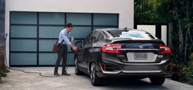 La Honda Clarity, une nouvelle hybride rechargeable en vente dès maintenant