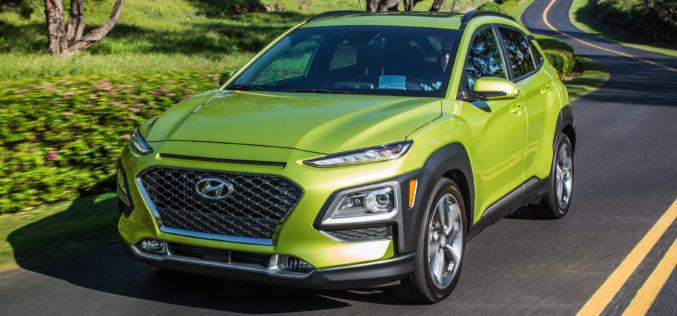 Le Kona, le petit nouveau de Hyundai dans la catégorie des VUS compacts