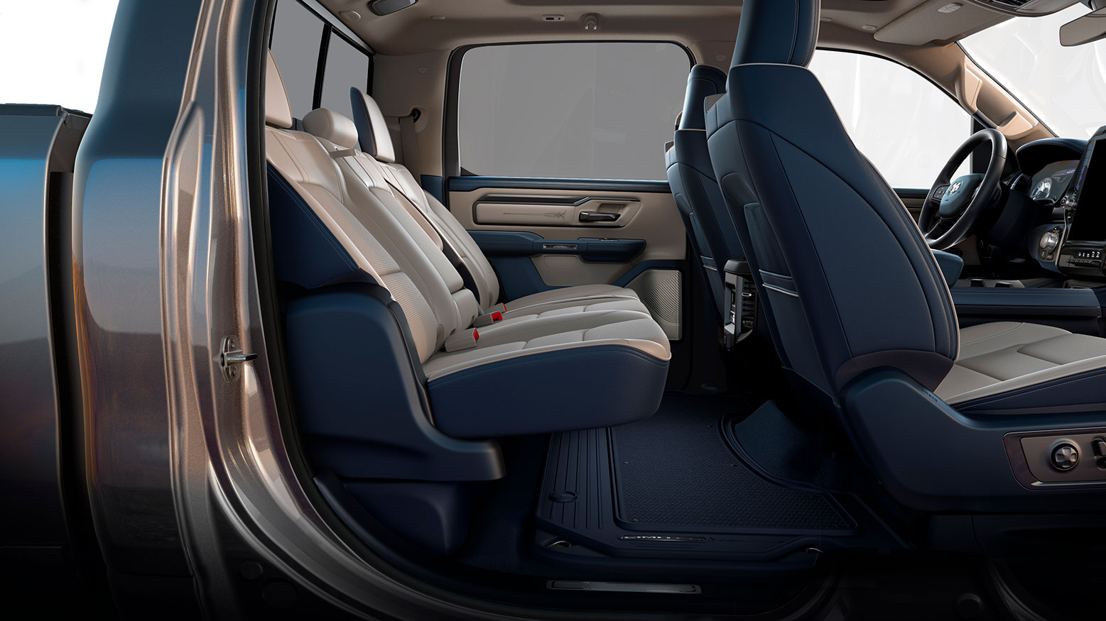 2019 Ram 1500 – Eight-degrees of Rear Seat Slide Recline ...
