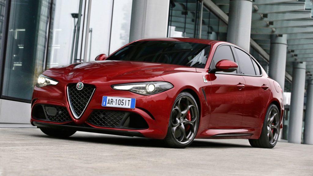Alfa Romeo Quadrifoglio 2017