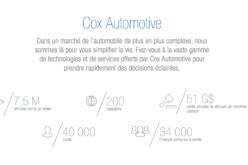 Cox Automotive Canada: les bons coups de 2017, les souhaits de 2018