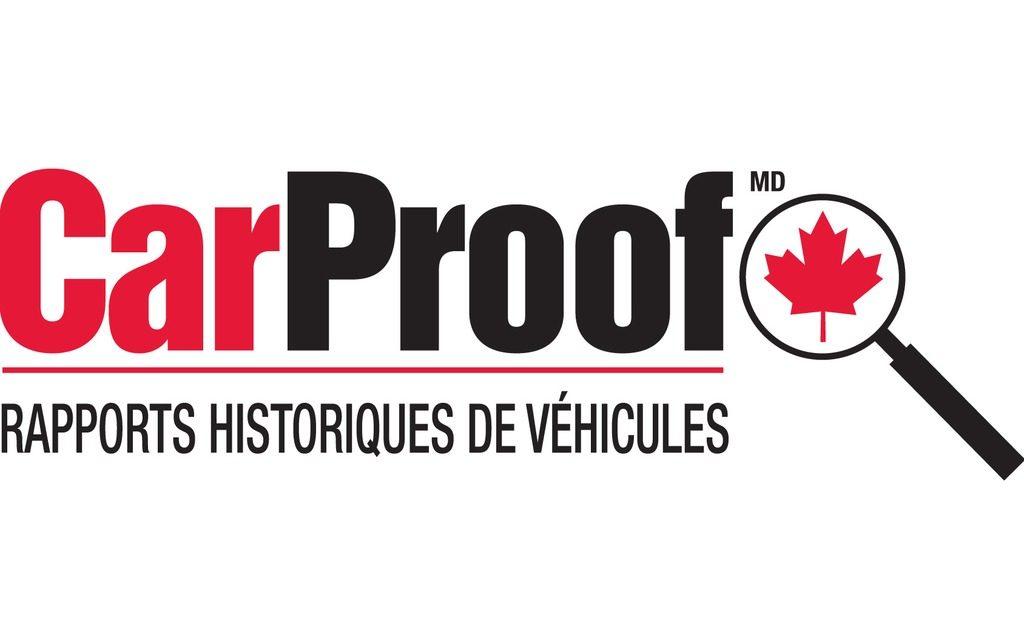 CarProof CarFax Canada