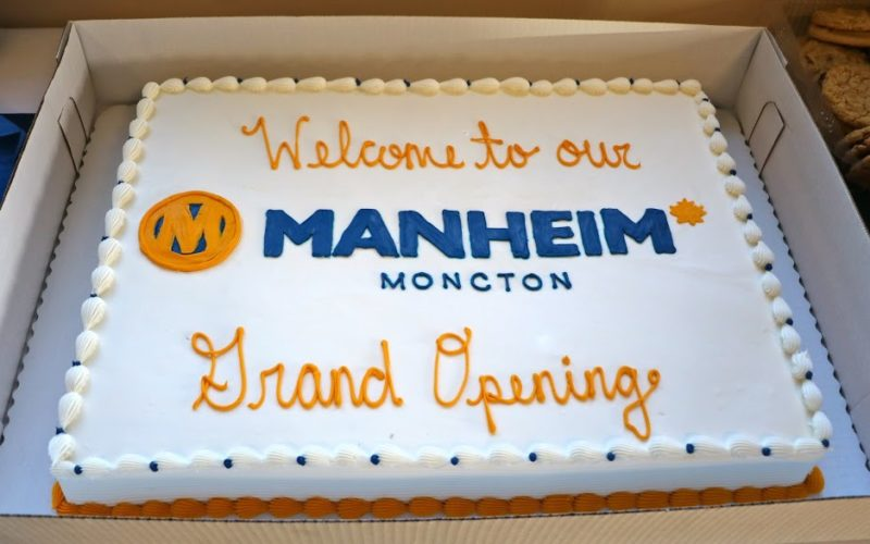 Manheim ouvre une nouvelle succursale à Moncton