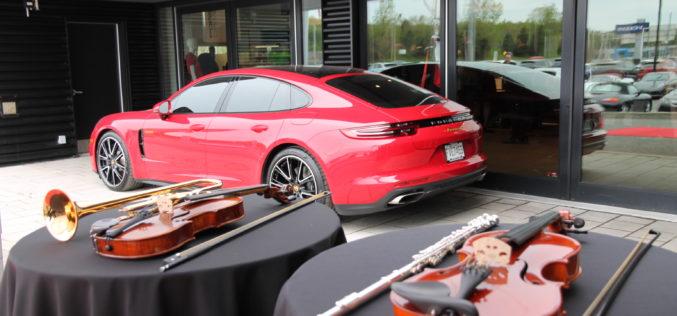 Soirée Rapide et symphonique au Centre Porsche Québec