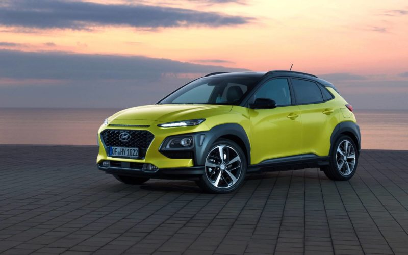 Hyundai Kona 2018: chaud, chaud, chaud…