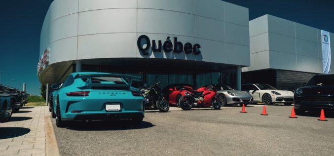 Québec fête en grand les 70 ans de Porsche