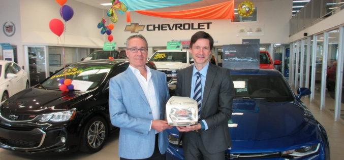 Citadelle Chevrolet Cadillac Buick GMC reçoit le prix Club du président 2017