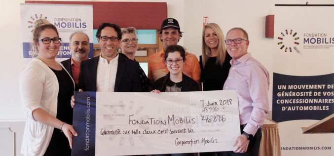 PHOTOREPORTAGE: 48 776 $ pour le Tournoi de golf de la Corporation Mobilis