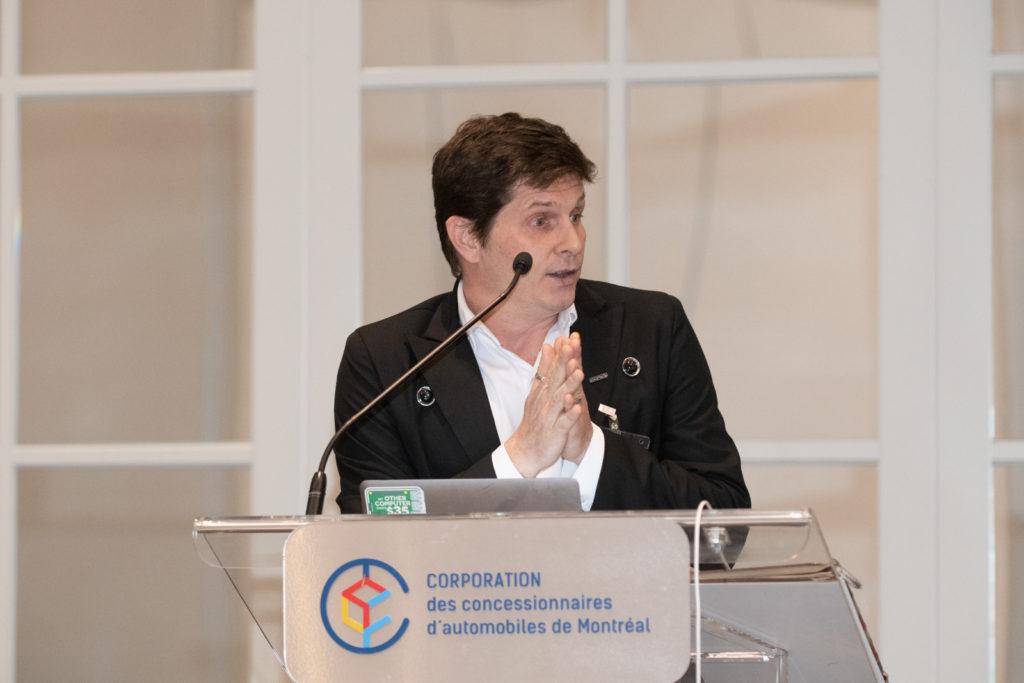 Éric Boily, directeur des TI à la CCAQ