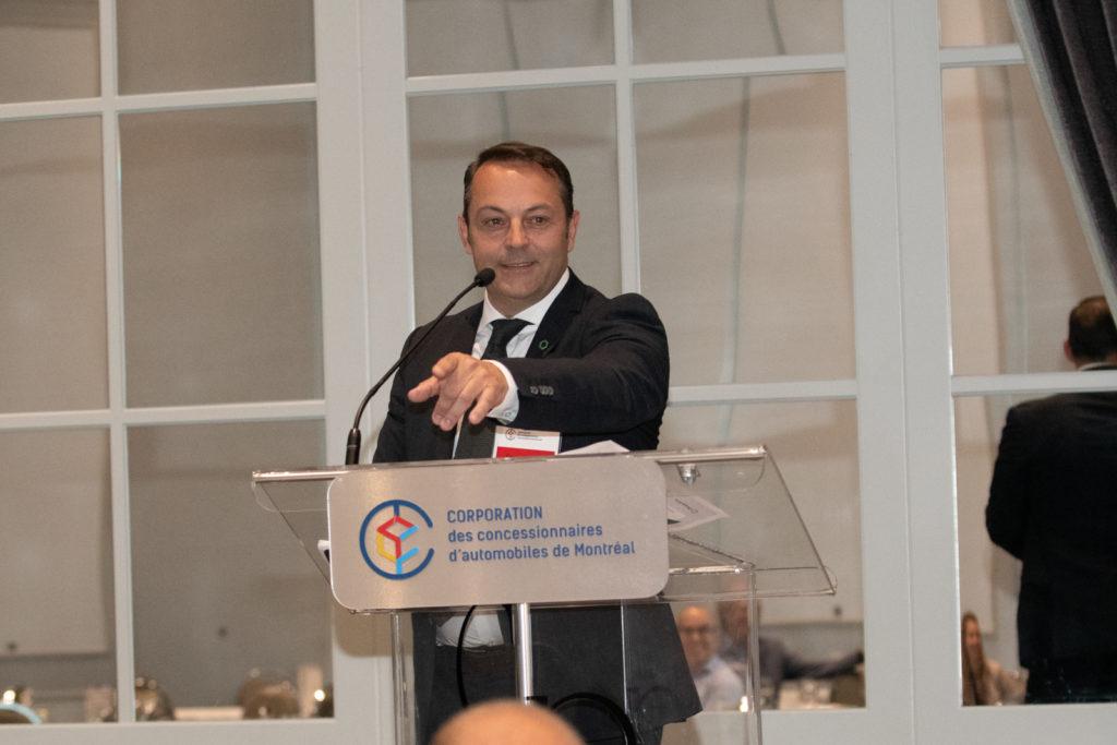 Claude Moureaux, Directeur marketing chez Desjardins