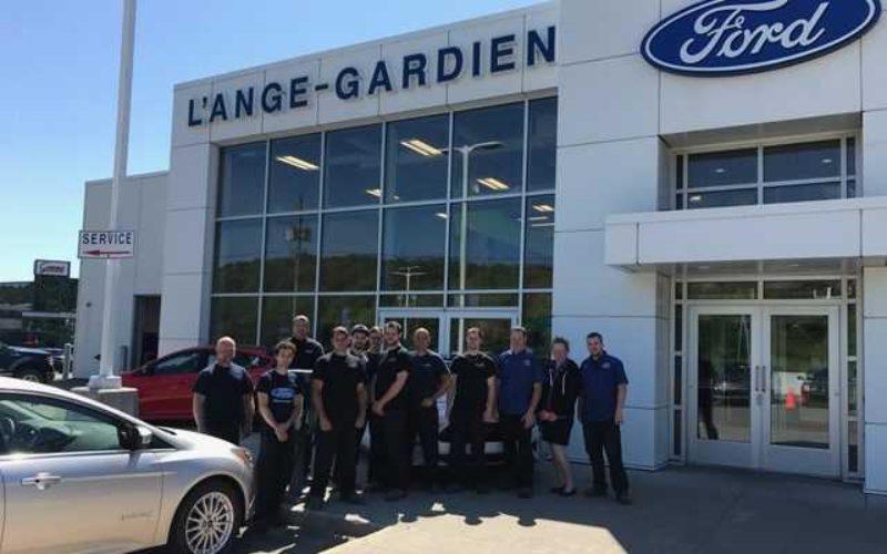 Le centre de carrosserie l'Ange-Gardien Ford certifié CarrXpert