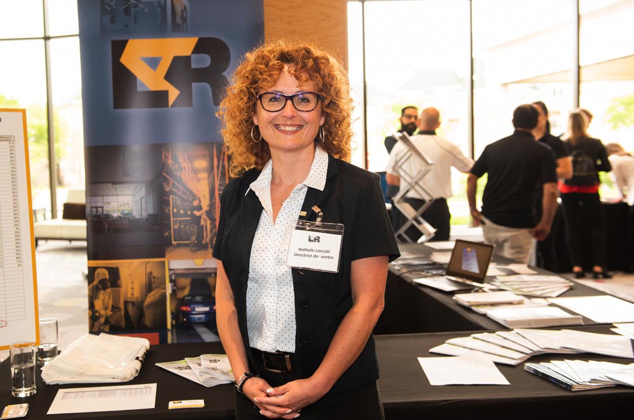Nathalie Lanctôt, directrice des ventes du Québec chez Leader Auto Ressources LAR Inc. (crédit photo: AutoMédia)