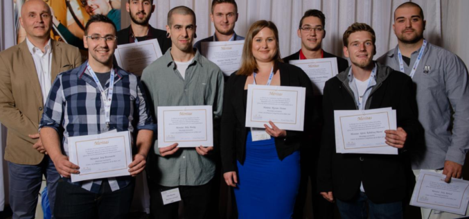Les meilleurs étudiants finissants du secteur des services automobiles honorés
