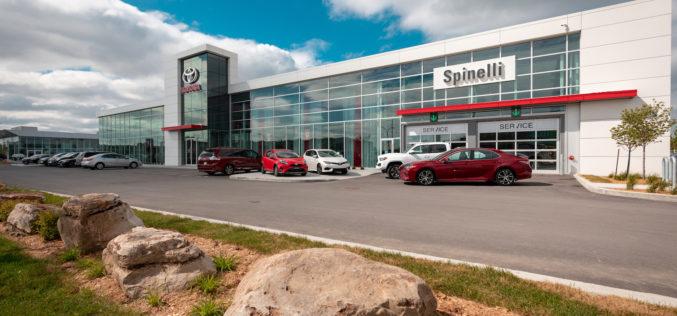 Spinelli Toyota Lachine:  Nouveaux locaux, même qualité