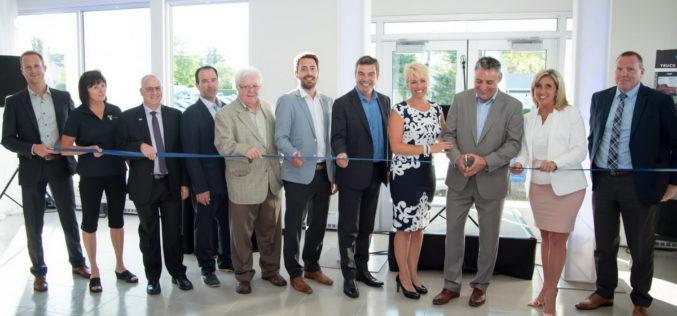 Inauguration officielle de Cliche Auto Ford Thetford