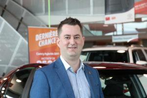 David Langevin Conseiller en produits véhicules neufs, Boulevard Toyota Employé depuis 10 1/2 ans