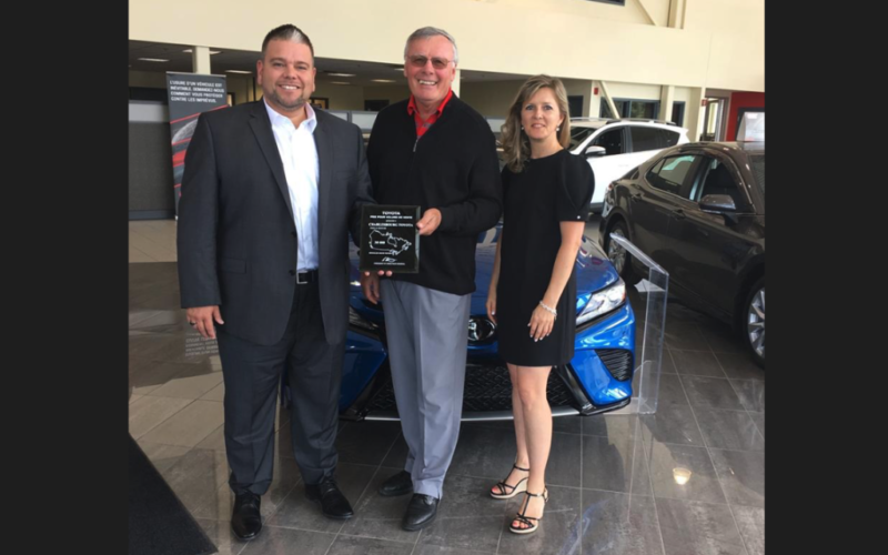 Charlesbourg Toyota vend 30 000 véhicules!