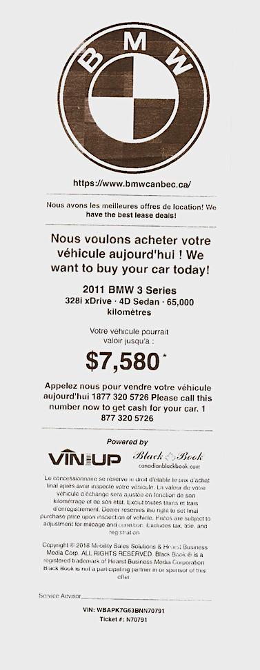 Coupon VinUp, offert au Canada par le Canadian Black Book