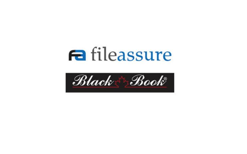 Les données du Canadian Black Book ajoutées à la solution informatique FileAssure