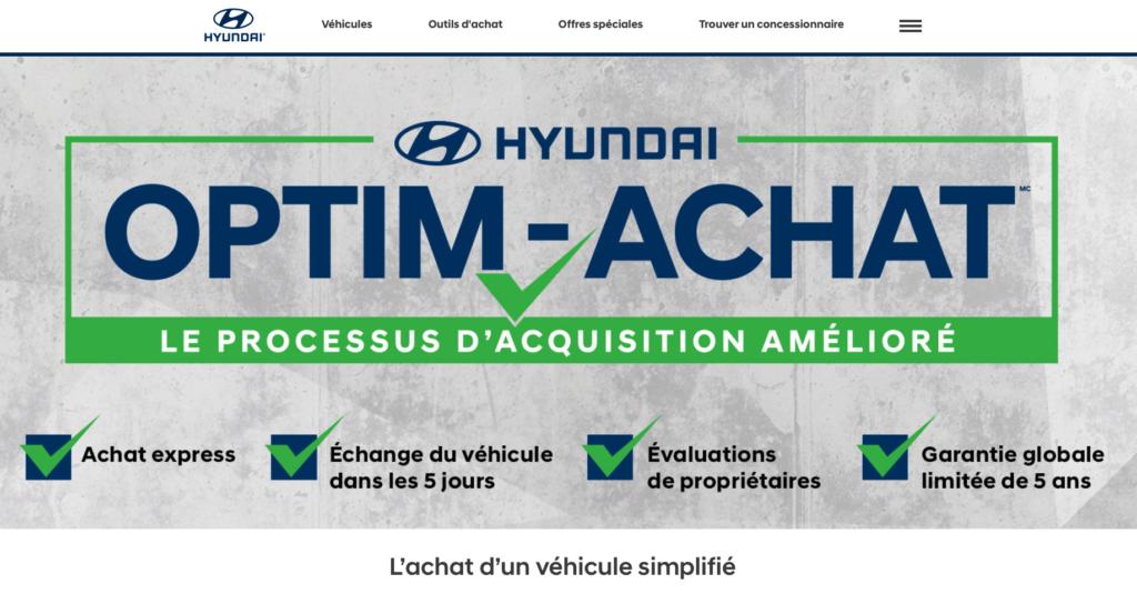 Optim Achat Hyundai