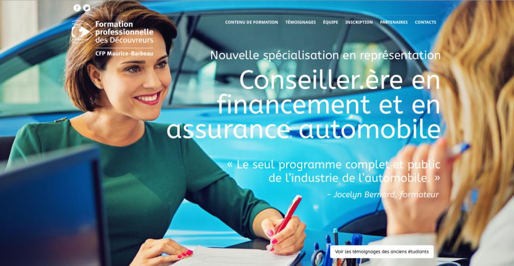 ASP Conseiller.ère en financement et en assurance automobile