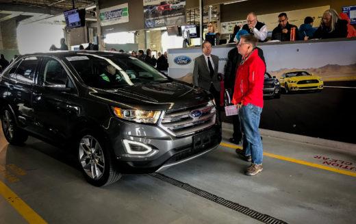 Les véhicules du programme Ford Frontline Ready offerts aux enchères Manheim Toronto