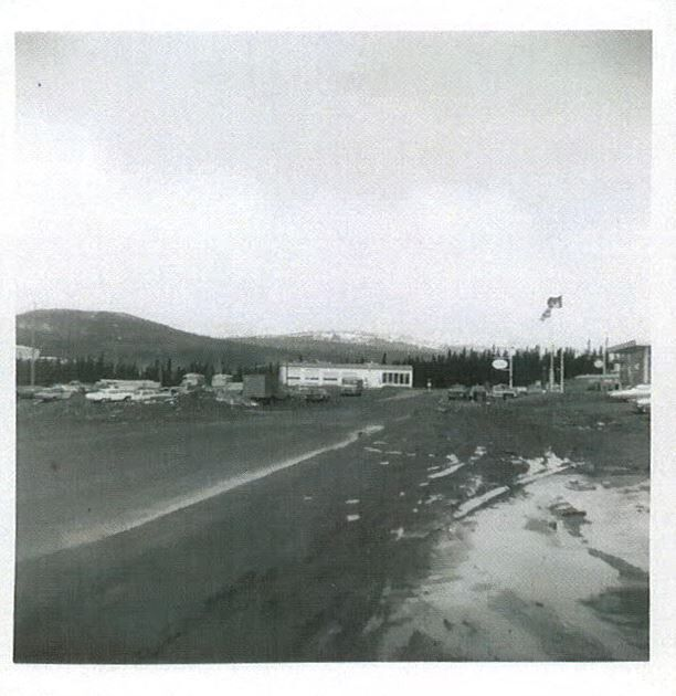 Carol auto Ford en 1968