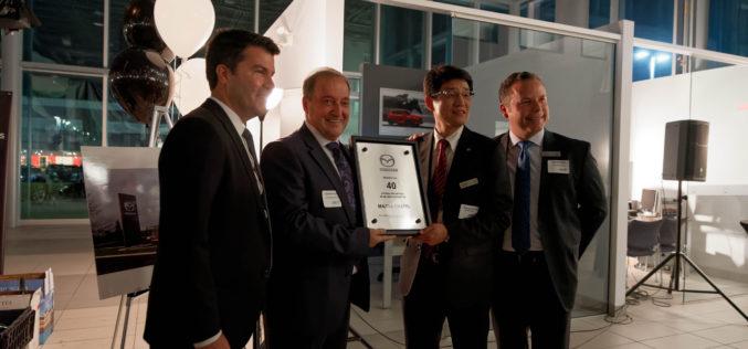L'approche Kizuna pour souligner les 40 ans de Mazda Chatel