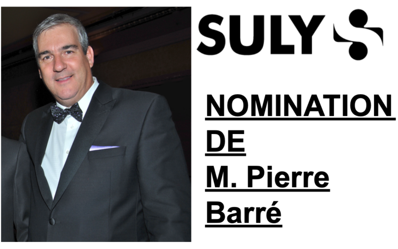 Suly: Nomination de Pierre Barré
