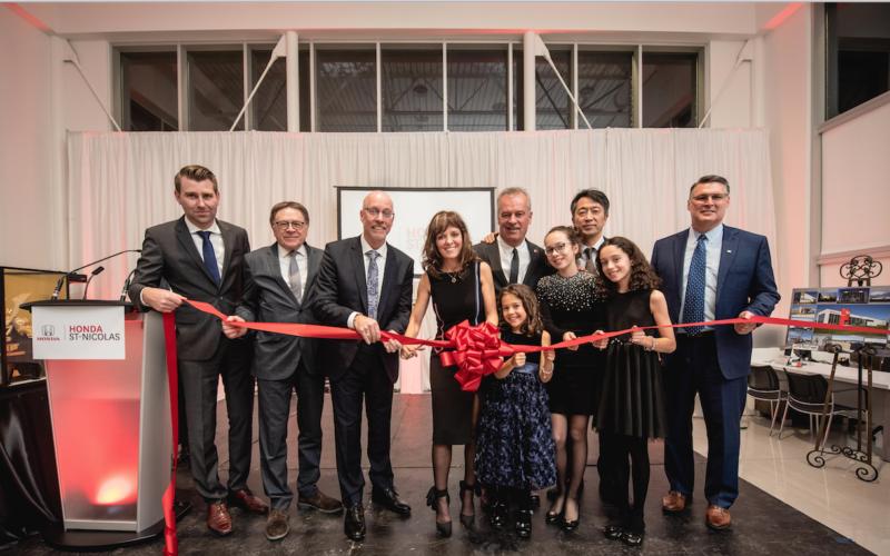 Le Groupe Michel inaugure officiellement sa concession Honda St-Nicolas