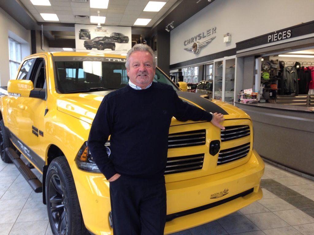 Luc Verreault, président du Groupe Maison De l'Auto