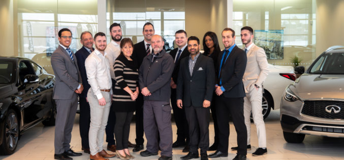 Record canadien de croissance des ventes battu chez HGrégoire Infiniti Laval