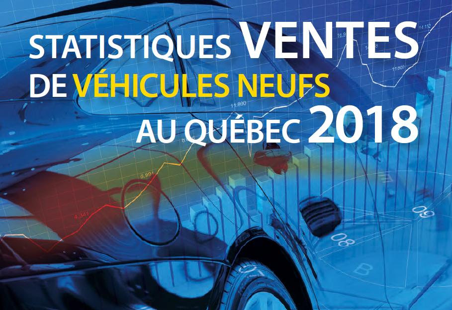 Ventes de véhicules neufs Québec 2018
