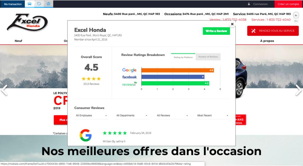Reviews Avis AutoVerify Mobials